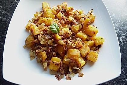 Illes falsche Bratkartoffeln zum Kaloriensparen 5