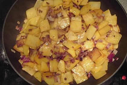 Illes falsche Bratkartoffeln zum Kaloriensparen 19