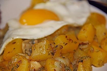 Illes falsche Bratkartoffeln zum Kaloriensparen 1