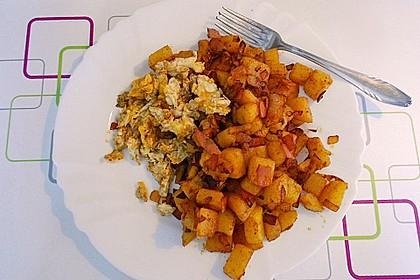 Illes falsche Bratkartoffeln zum Kaloriensparen 8