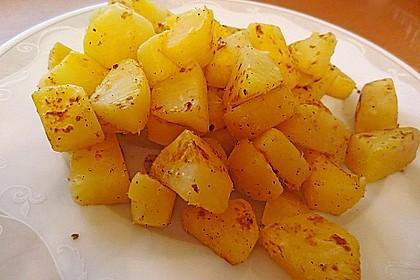 Illes falsche Bratkartoffeln zum Kaloriensparen 7