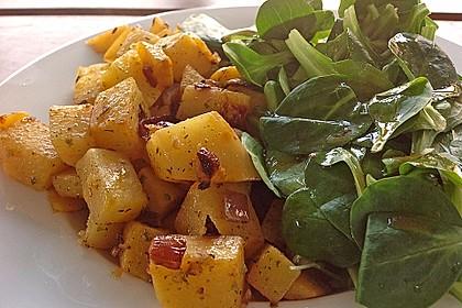 Illes falsche Bratkartoffeln zum Kaloriensparen