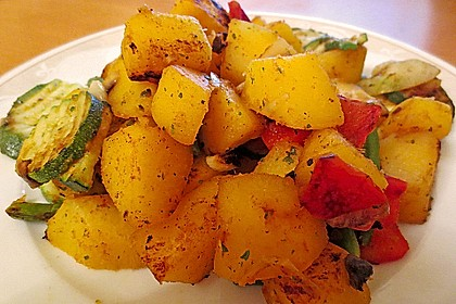 Illes falsche Bratkartoffeln zum Kaloriensparen 6