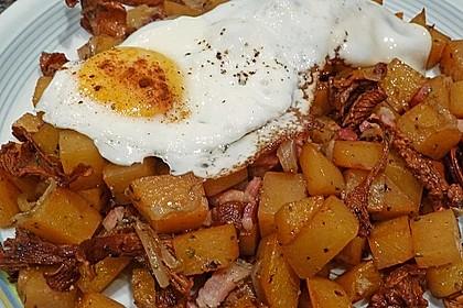 Illes falsche Bratkartoffeln zum Kaloriensparen 2