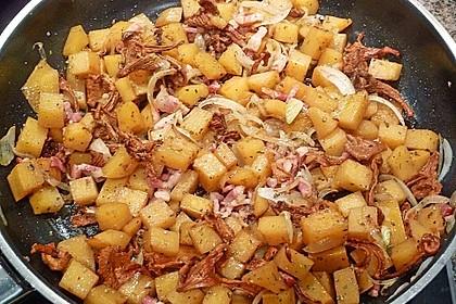 Illes falsche Bratkartoffeln zum Kaloriensparen 3