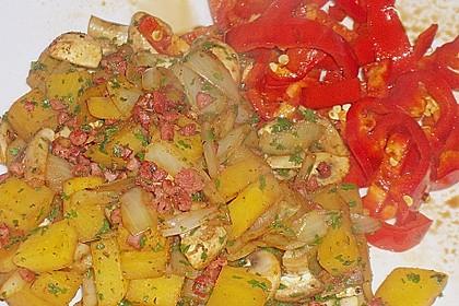 Illes falsche Bratkartoffeln zum Kaloriensparen 15
