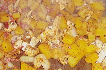 Illes falsche Bratkartoffeln zum Kaloriensparen 17