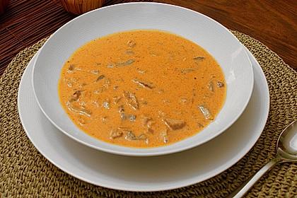 Pikante Gyros - Suppe 1