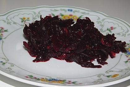 Chrissis Rote Bete - Apfel - Salat mit Meerrettich 5