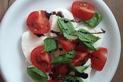 Tomaten mit Mozzarella (Bild)