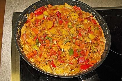 Kartoffel - Paprika - Pfanne 1