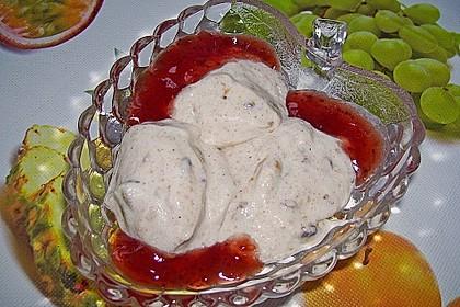 Lebkuchenmousse mit Glühweinsauce 6