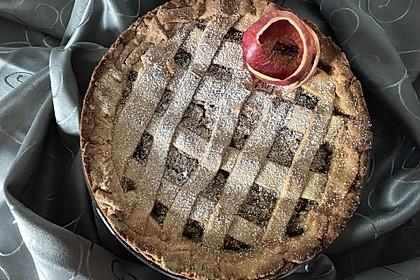 Gedeckter Apfelkuchen 9