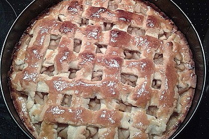 Gedeckter Apfelkuchen 19