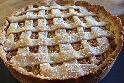 Gedeckter Apfelkuchen 11
