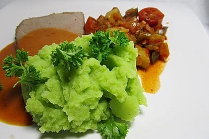 Schrats grünes Kartoffelpüree