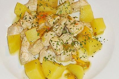 Hähnchenbrustgeschnetzeltes mit Paprika und Brokkoli aus dem Wok 22