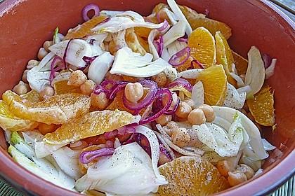 Fenchel-Orangen Salat 4