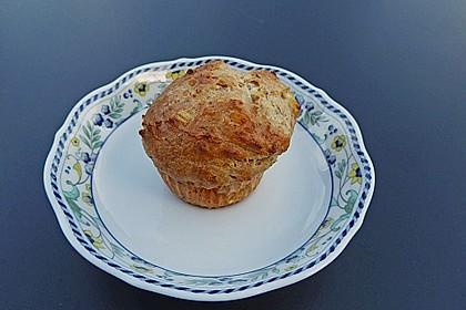 Schafskäse - Zwiebel - Muffins