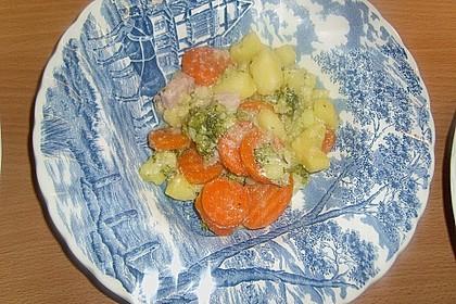 Bauern - Pfanne mit Gemüse