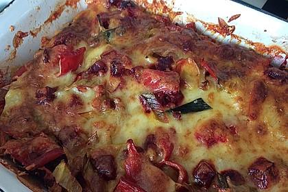 Pastinaken - Rote Bete - Auflauf 1