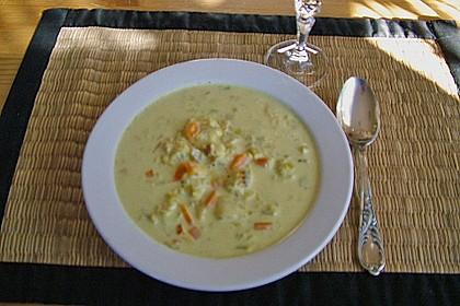 Fisch-Ananas Curry mit Kokosmilch 26