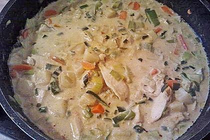 Fisch-Ananas Curry mit Kokosmilch 18