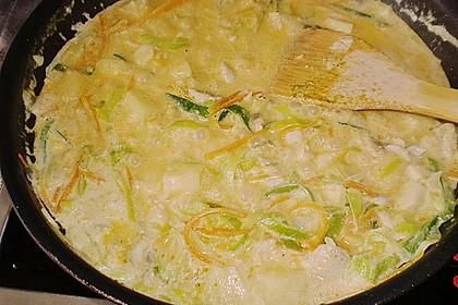 Fisch-Ananas Curry mit Kokosmilch 21