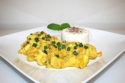 Fisch-Ananas Curry mit Kokosmilch 2