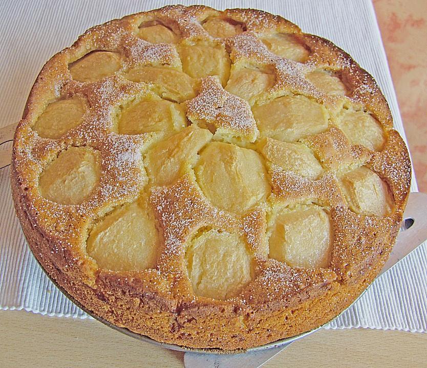 Saftiger Eierlikor Apfel Kuchen Von Lala71 Chefkoch De