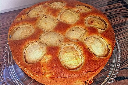 Saftiger Eierlikör - Apfel - Kuchen (Bild)