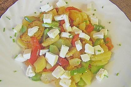 Kartoffelpfanne mit Paprika 2