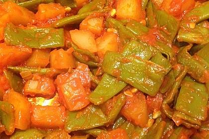 Türkischer grüne Bohnentopf von Yussuf 1