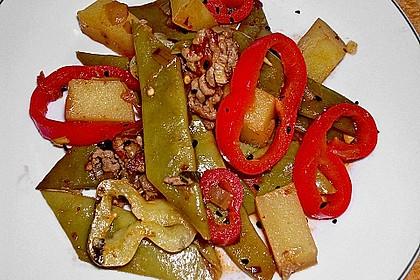 Türkischer grüne Bohnentopf von Yussuf 2
