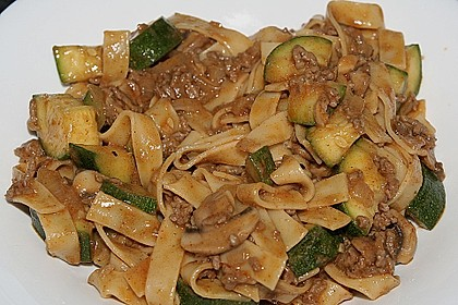 1 A Zucchini - Hackfleisch - Pfanne 1