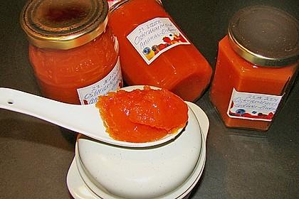 Ananas - Erdbeer - Konfitüre