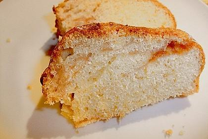 Sandkuchen - Gugelhupf mit Himbeermark 8