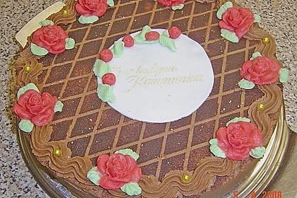 Schokoladen - Orangenkuchen, getränkt 2