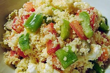 Griechisch inspirierter Couscous 2