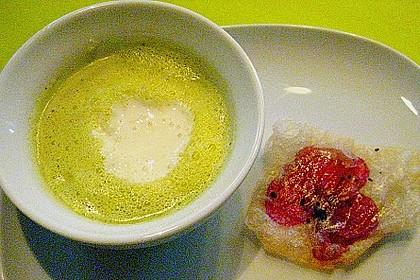 Essenz von der Zucchini mit Poppie - Cräcker 8