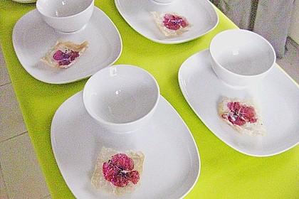 Essenz von der Zucchini mit Poppie - Cräcker 4