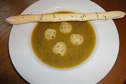 Essenz von der Zucchini mit Poppie - Cräcker 2