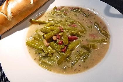 Schnippelbohnen - Suppe 9