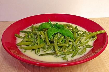 Schnippelbohnen - Suppe 6