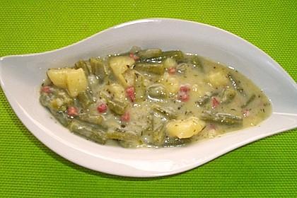 Schnippelbohnen - Suppe 15