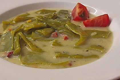 Schnippelbohnen - Suppe 2