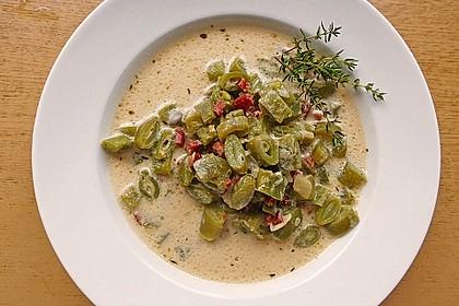 Schnippelbohnen - Suppe 8