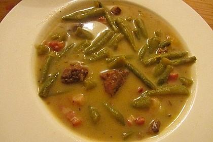 Schnippelbohnen - Suppe 10