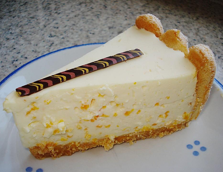 Philadelphia Torte Mit Mandarinen Und Loffelbiskuits Von Schnito2000