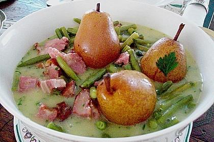 Birnen, Bohnen und Speck 4